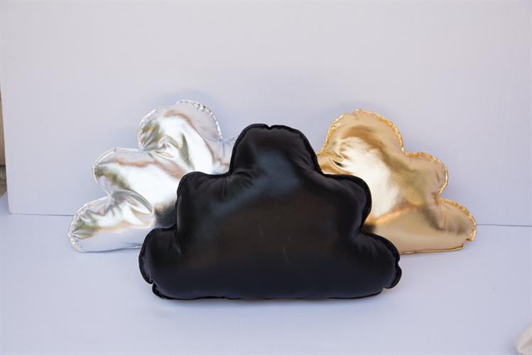 כריות ענן זהב כסף שחור