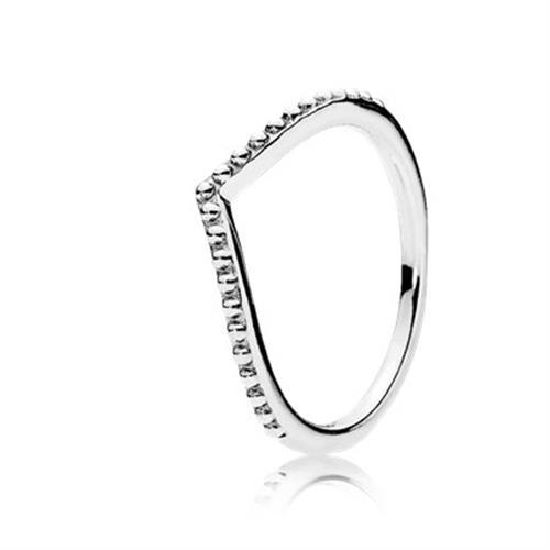 טבעת כסף פנדורה 196315CZ