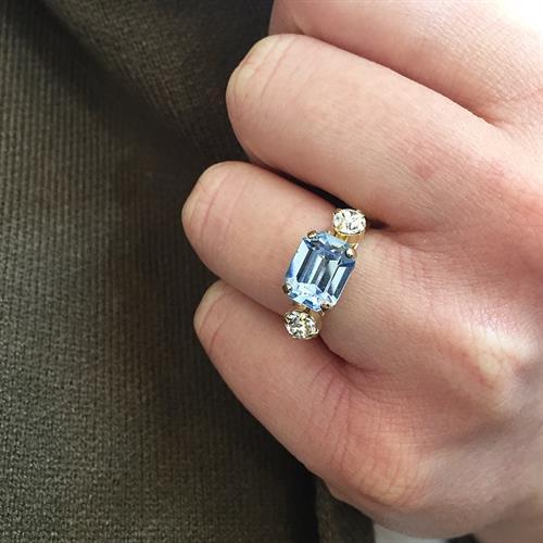 טבעת רובין זהב לילך