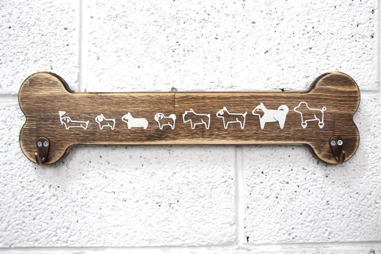 מתלה עצם - DOGS PATTERN