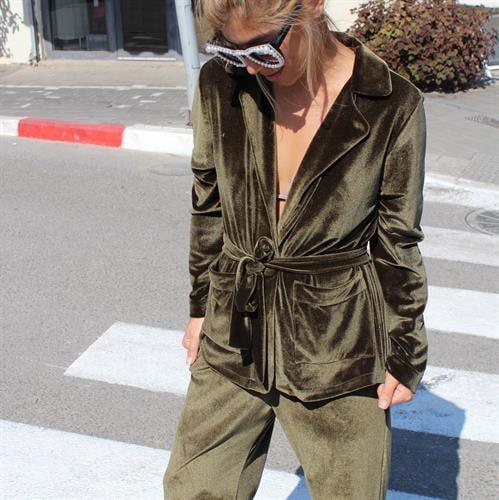 חליפת ברנדה ירוק