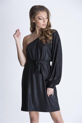 שמלת היידי גלאם שחור