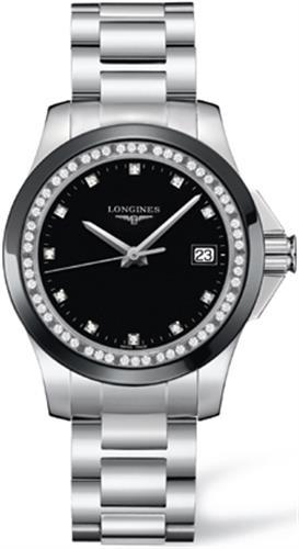 שעון יד אנלוגי נשים LONGINES Diamonds L3.281.0.57.6