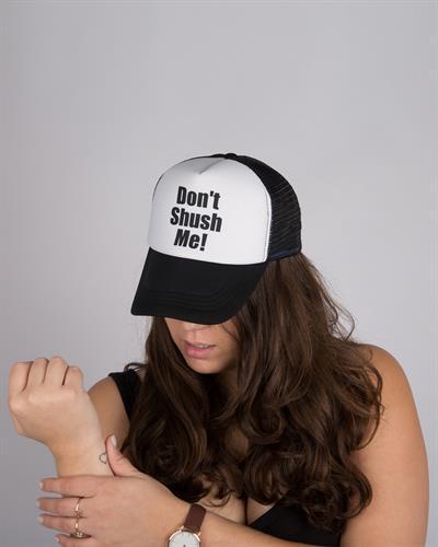 כובע יוניסקס Don't shush me