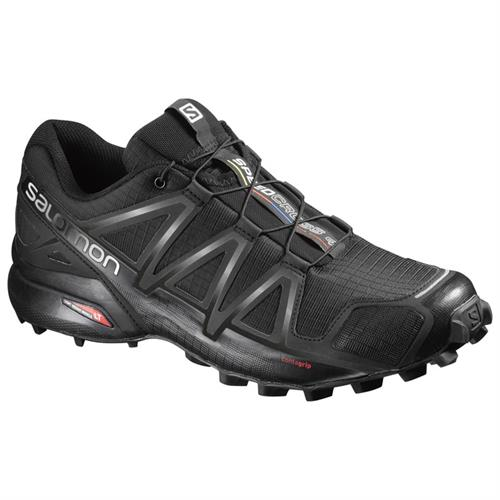 נעלי סלמון לריצה דגם - Salomon SPEEDCROSS 4 BLK