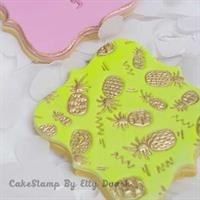 Special- Summer and pineapple 2 mats-new stamps
