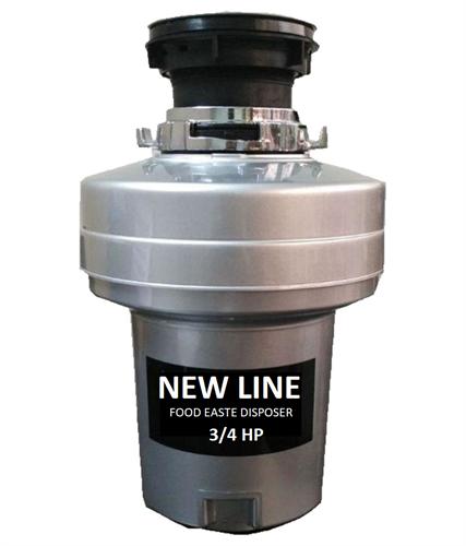 טוחן אשפה NEWLINE - 3/4HP אספקה מיידית ישירות מהיבואן דגם SLC-370 512W משופר