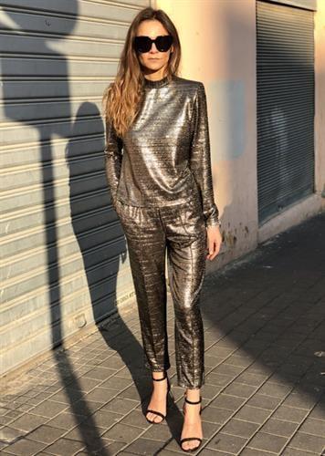 חליפת ג'נט שחור לורקס