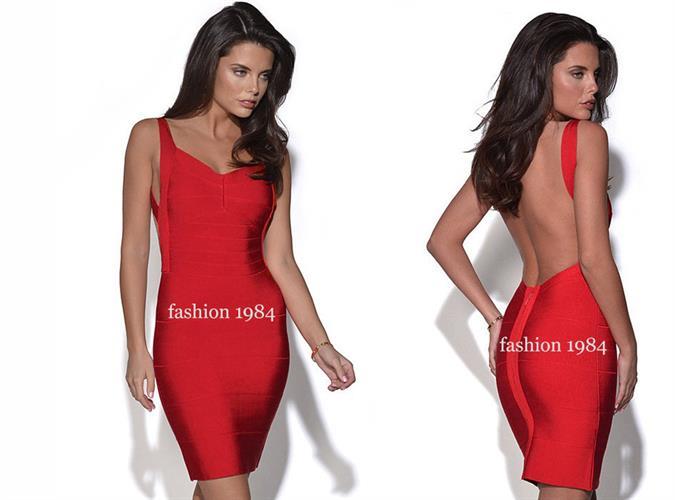 שמלה מעלפת עם גב חשוף - זמינה בצבעים