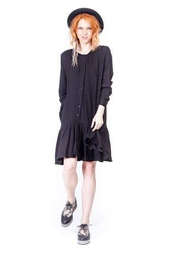 שמלה אמנדה שחור
