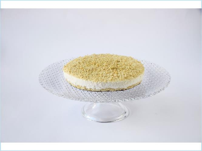 עוגת גבינה פירורים (קוטר)