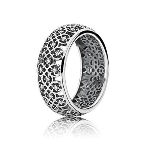 טבעת כסף פנדורה 190955CZ
