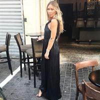 שמלה אוויטה שחורה