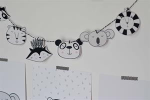 חבילת עיצוב לחדר ארנבון שחור