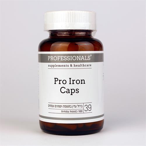 פרו אירון - Pro Iron כמוסות ברזל