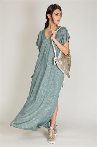 שמלת סנד ירוק