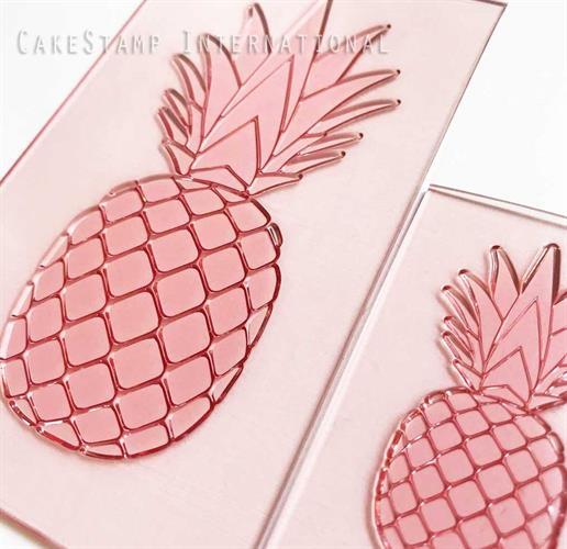 Big pineapple stamp