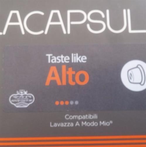 96 קפסולות קפה תואמות Lavazza Amodo Mio