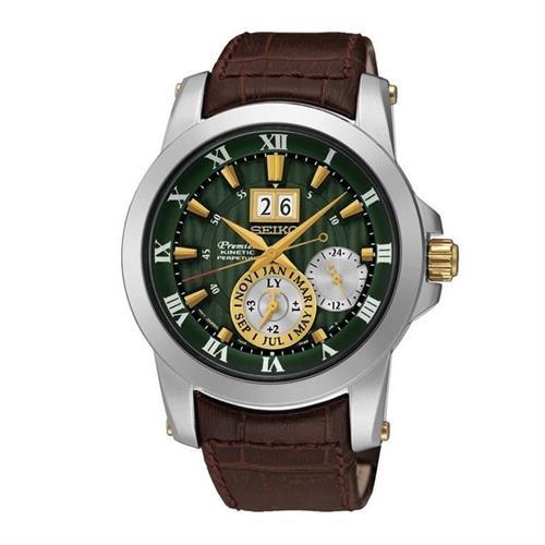 שעון יד אנלוגי סייקו גבריםSEIKO PREMIER SNP127P1