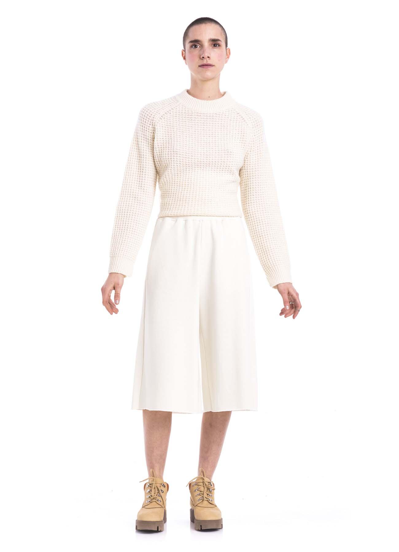 WHITE MM6 SWEAT PANT