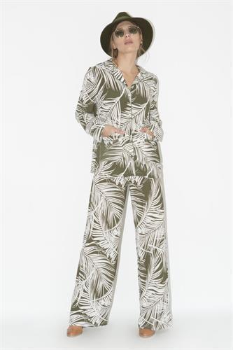 מכנסיים סנדרה ירוק