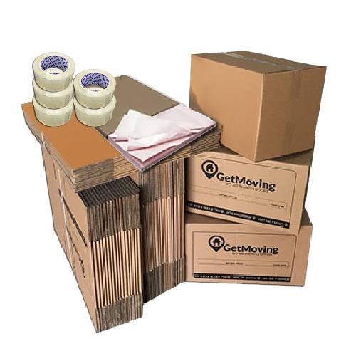 חבילת חומרי אריזה 3 חדרים