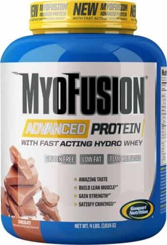 אבקת חלבון מומלצת גאספרי | Gaspari Nutrition MyoFusion Advanced Protein - 1.8kg