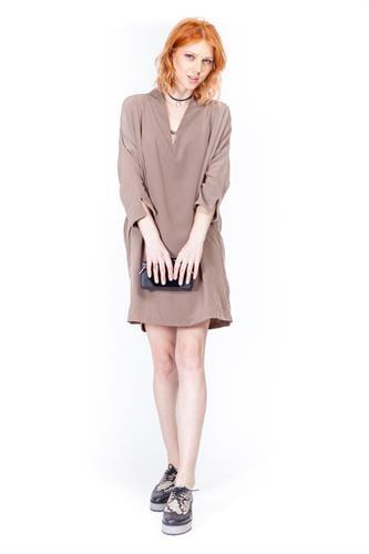 שמלת גלדיאטור אפור חום
