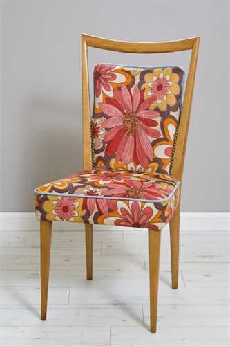 כסא פרחוני - מחיר מבצע
