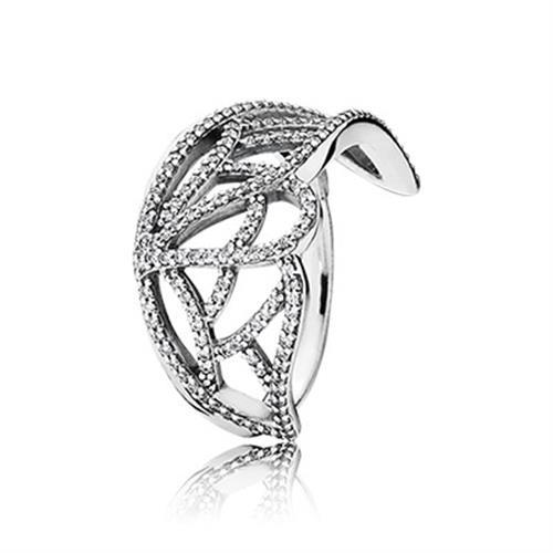 טבעת כסף פנדורה 190937CZ
