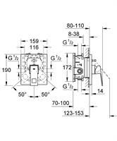 אינטרפוץ 4 דרך תוצרת גרואה דגם יורוקיוב 19896000