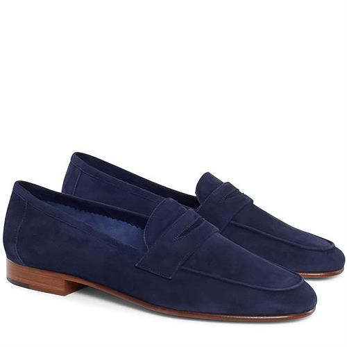 CLASSIC LOAFER SUEDE BLUE