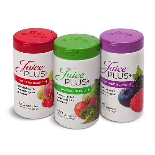 ג'וס פלוס - כמוסות פירות , ירקות ופירות יער