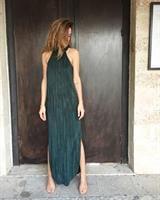 שמלת קרלה ירוקה