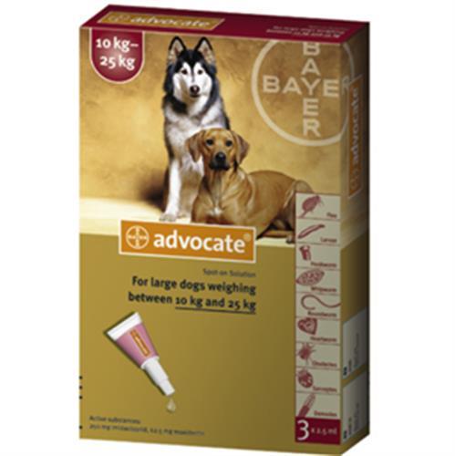 """אדווקאט לכלבים במשקל 10 - 25 ק""""ג"""