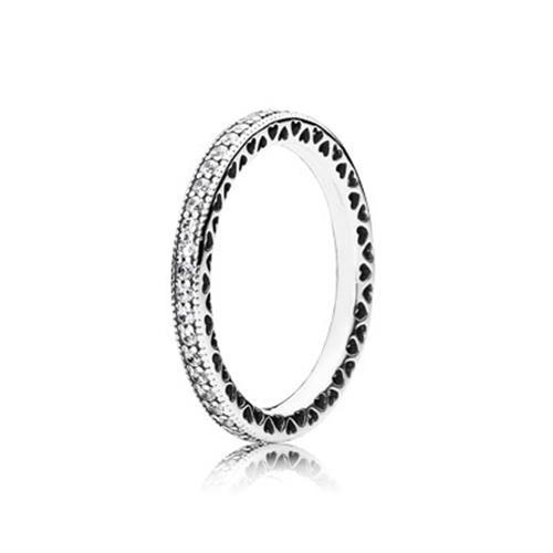טבעת כסף פנדורה 190963CZ