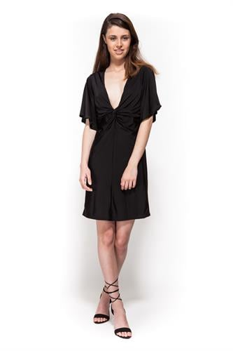 שמלת מוניקה שחור