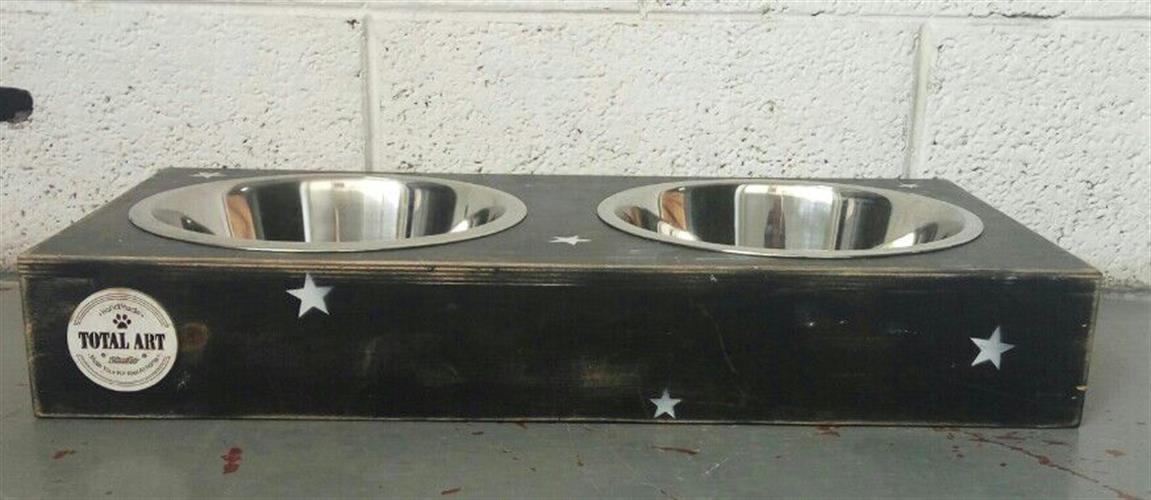 כלי אוכל ושתיה מדגם ג'קסון XL - שחור כוכבים