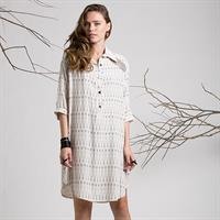 שמלת ג'וי הדפס גאומטרי