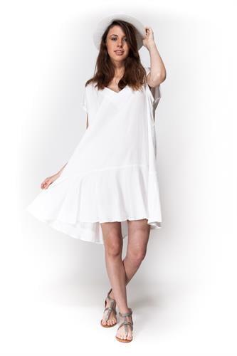 שמלת סיה לבן