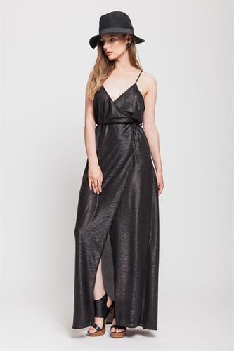 שמלת סקרלט שחור לורקס
