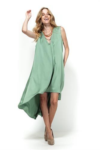 שמלת סלין ירוק