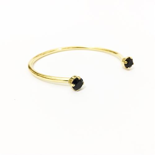 צמיד אן זהב שחור