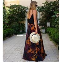 חצאית רוזי מקסי פרחוני