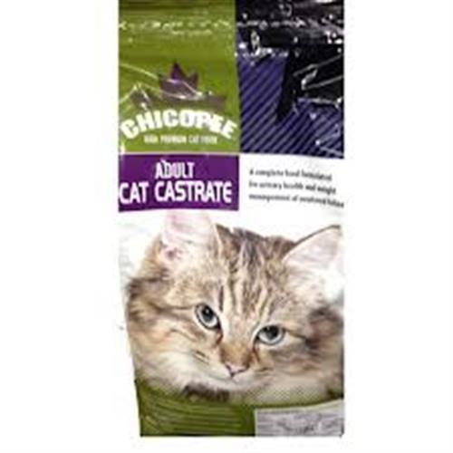 """צ'יקופי לחתולים מסורסים/מעוקרות 2 ק""""ג"""