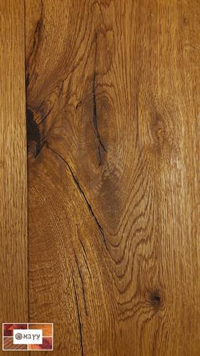 פרקט עץ אלון תלת שכבתי מעושן בשמן