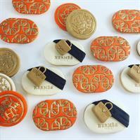 Chain texture stamp