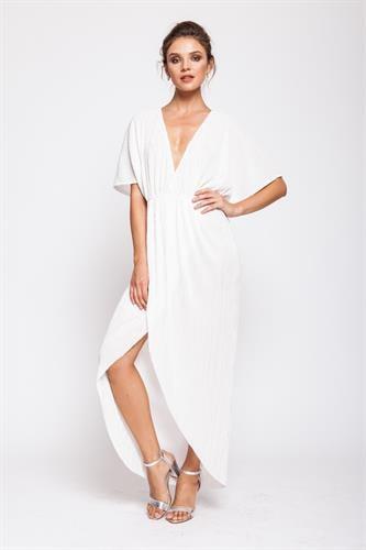שמלת אלין לבן