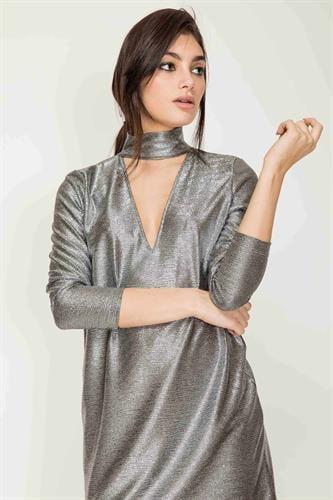 שמלת מיני פרטי כסף לורקס