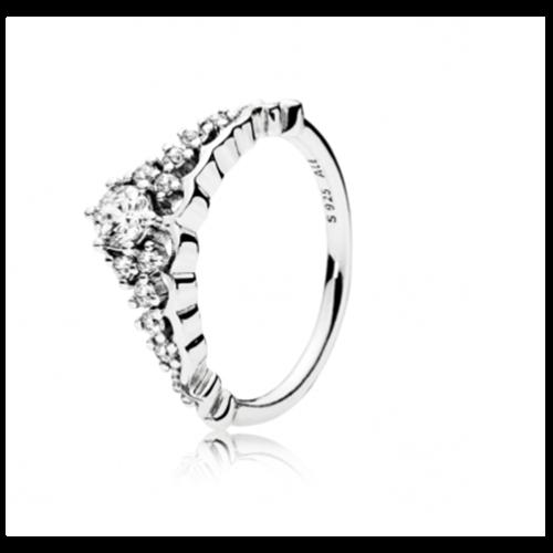 טבעת כסף פנדורה 196226CZ